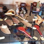 The Lodge offers a nice selection of homemade crafts at very reasonable prices.