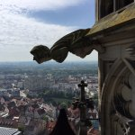 On the way to the top of the Ulmer Münster
