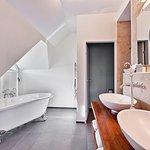 Badezimmer in der Junior Suite Superior