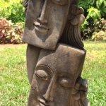 Artistic statues