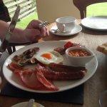 My husband enjoyed the 'Full Cornish' breakfast immensley