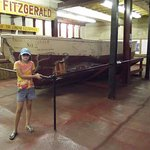 A life boat from the Edmund Fitzgerald.