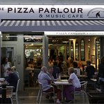 Another busy night at The Pizza Parlour & Music Cafe, Peterborough.