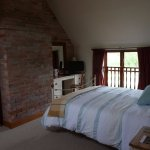 Loft Suite has a super king double bed and overlooks the South Garden.