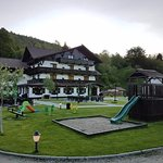 Brandeberg terrace and playground