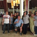 Our farewell from Isabel the hotel manager