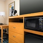 All rooms feature a Coffee Maker, Fridge and Microwave with Flat Screen TV