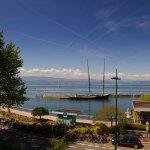 Vue depuis nos chambres vue Lac Léman