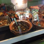 the guisados - stewed dishes to go in the tacos