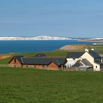 Chale Bay Farm with views to Tennyson Down and the Needles