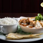 Chicken Curry and basmati rice