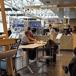 Nord Restaurant, Keflavik international airport main terminal