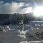 salle à manger - extérieur (en terrasse) - hiver