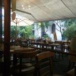 Exterior del café