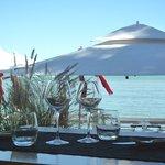 un site rare et privilégié, en bordure de plage...