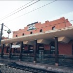 One Platform of Marrakesh Railway Station