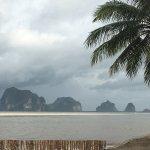 Anantara Si Kai Resort.  This was the rainy season so not always this bad.   Brilliant views and