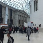 The lobby of the British Museum
