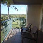 Balcony of 1 bedroom oceanfront suite 2553