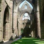 Tintern Abbey Transept with Massive Medieval Windows!