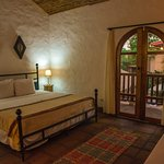 King Suite with Private Entrance & TV