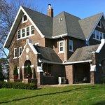 Iowa House on SW corner of Hayward & Knapp in Ames, IA