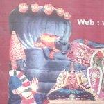 Picture of the main deity, Sarangapani