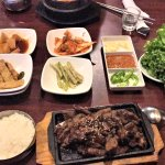 The Side Dishes and Bulgogi