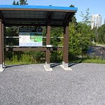 info kiosk with mapping and attractions listed