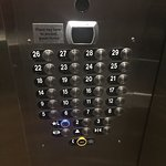 Elevator Buttons - Secure Card Function Use with Room Keys