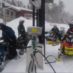 Accessible by sled