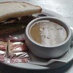 Delicious soup & sandwich combos
