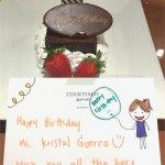 Birthday surprise.