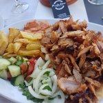 Meat Dish-Pork Gyros