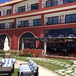 It is a newer hotel. Rooms with all the modern technology and amenities. Beautiful pool and beac