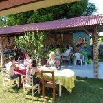 Petit Déjeuner à la  Pension Te Miti - Breakfast