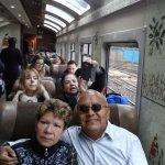 Muy emocionados nos acercamos a Aguascalientes. El viaje a sido muy cómodo, atendidos por Prisci