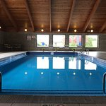 Indoor pool open year round  Hours 7am - Midnight