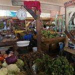 Santa Barbara Samana indoor market