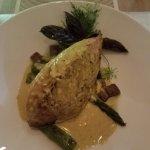 Moon fish with curry sauce! Bon apetit!
