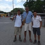 Me and my tour guides (Andee & Henne) in Guatelama