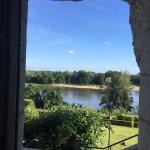 vue de la chambre, la Loire