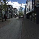 Laugavegur shopping street - Reykjavik