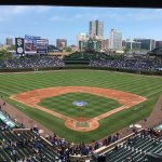 Great day of baseball! The Cubs won!