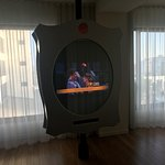 The odd but fun mirror TV!