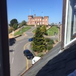 View of Inverness Castle from my room.