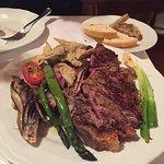 Steak was great
