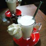 Quality hot chocolate! Breakfast heaven.