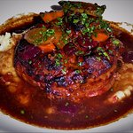 "Ohhhhhhhhhh... Marcho Farms center cut all natural veal ""osso buco"" braised veal shank!"