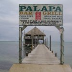 The entrance to the Palapa Bar. Fun place!